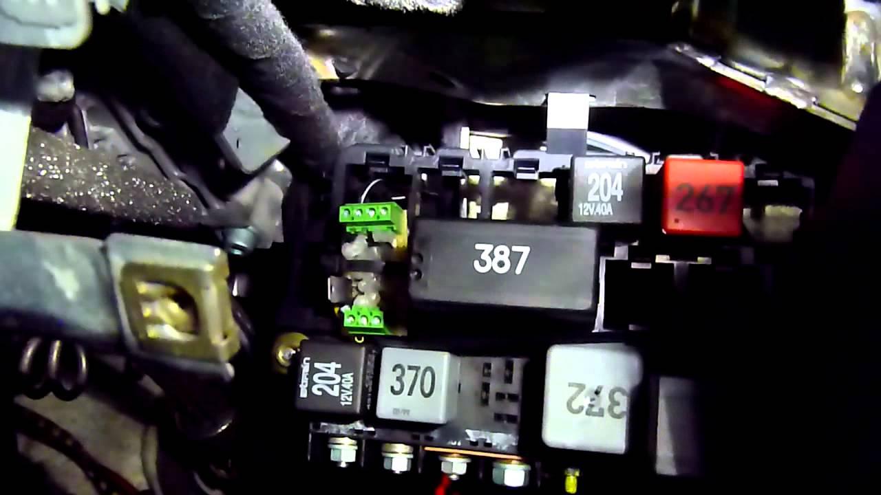 Volvo XC70 S80 V70 Door Handle Light Installed