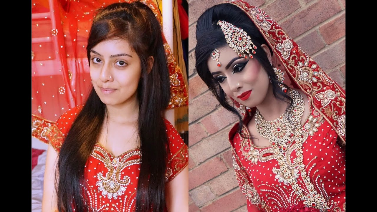 real bride traditional asian bridal makeup youtube