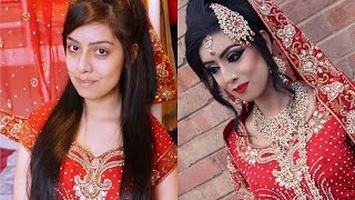 Real Bride | Traditional Asian Bridal Makeup