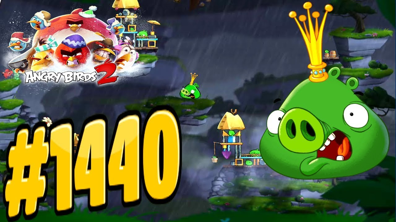 Angry birds 2 cobalt plateaus united steaks of hamerica - Angry birds trio ...
