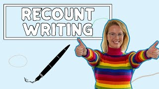 Recount Writing For Kids // English Writing