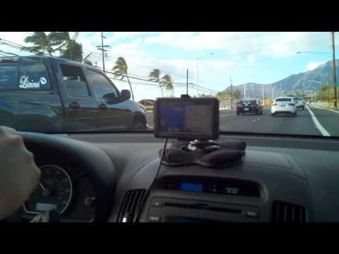Driving to Waianae,HI
