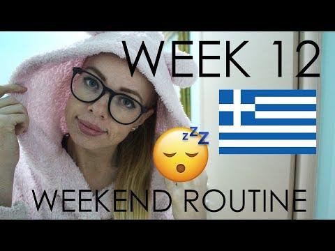 WEEKEND ROUTINE (week 12) | My Life in Greece VLOG