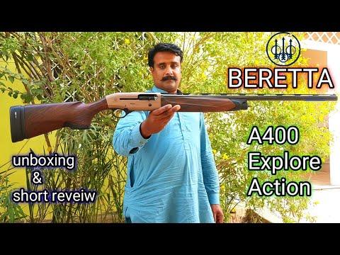 Beretta A400 Explore Action unboxing& short reveiw