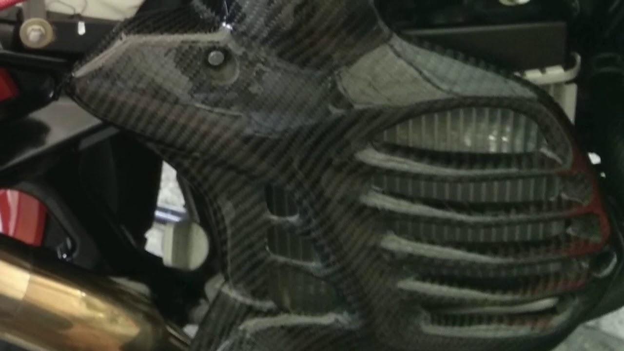 Pilihan Tutup Radiator Aerox155 Nvx155 Ato Nmax155 Youtube Cover Aerox Carbon 155
