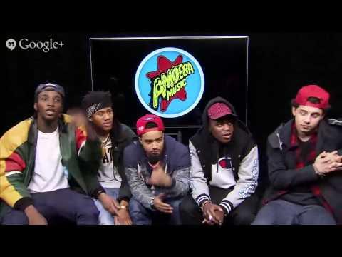 Pro Era Crew G+ Hangout on Air Q&A - Amoeba Takeover