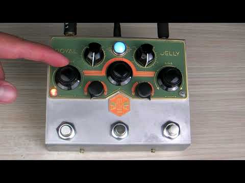 Beetronics Royal jelly quick video with one riff (2/3)