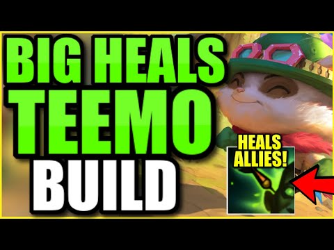 My team DESPERATELY needed a HEALER…. so I locked in Teemo Support ;)