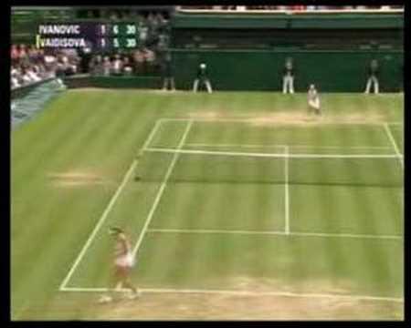 Ana Ivanovic best points 2007