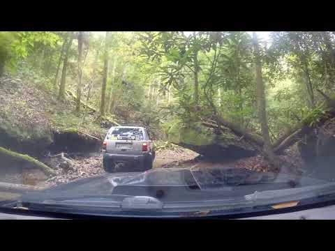 Danger Ranger Following MY ZJ up COWAN creek rd