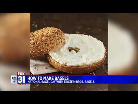National Bagel Day 2020 - Snackbox PR KDVR 830am - Einstein Bros. Bagels