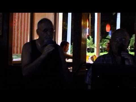 "Rob Karaoke 8 Ken Stuart and Hy Backround) ""That's Amore  7 24 2013"