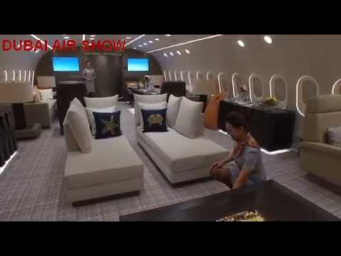 Flying Palace In The  World's Only Private Boeing 787 Dreamliner!