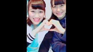 20161217 LINELIVE 原宿駅前パーティーズ 石井美優(ふわふわ) 三根優...