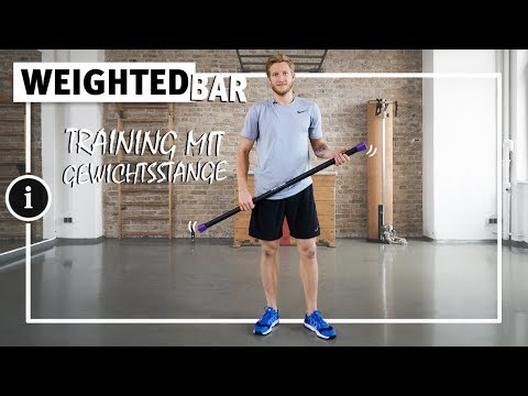 Video: Sport-Thieme® Steel Weighted Bar