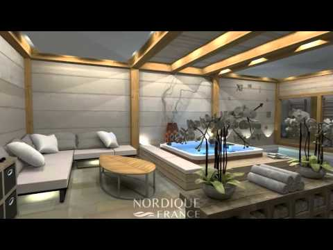 Projet 3D - Sauna, Hammam, Spa Et Fitness En Haute-Savoie