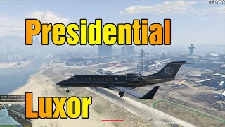 GTA 5 PC  MODS -  Presidential Luxor