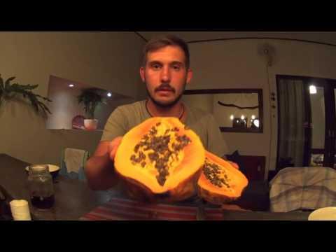 Papaya Папайя и как е есть