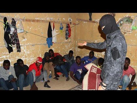 Libya'da 200'den Fazla Kaçak Göçmen Yakalandı