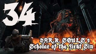 Dark Souls 2 Scholar of the First Sin - Walkthrough Part 34: Mirror Knight