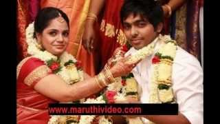 GV Prakash and Saindhavi wedding & engagement video gallery by maruthivideo.com