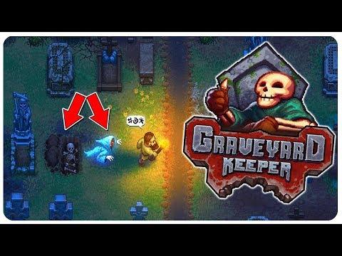 Graveyard Keeper - Run Your Own Medieval Graveyard! - Graveyard Keeper Gameplay Part 1