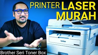 Printer Laser Irit, Produktivitas Tinggi: Review Brother Toner Box DCP-B7535DW