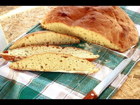 Domaći hleb koji se ne mesi / Seljački hleb/ No-Knead Bread Recipe