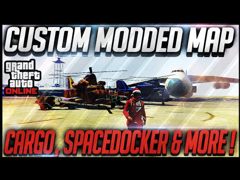 GTA 5 Online Modded Custom Map! Space...