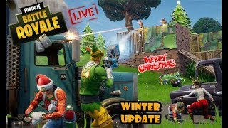 Fortnite Battle Royal Live - The Rise Of The Squad Battles - Xmas Update