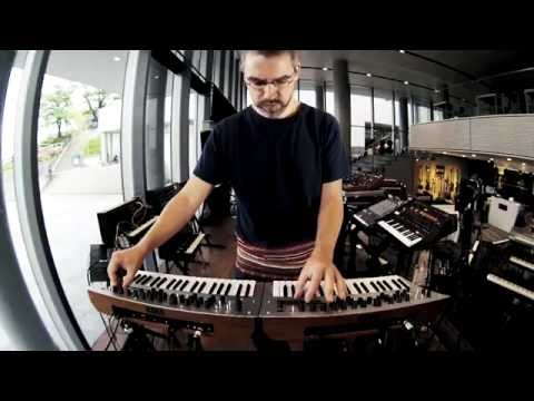 Marcus Henriksson of Minilogue plays KORG minilogue [with CC]