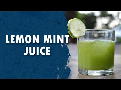 Lemon Mint juice | How to Make Mint Lemon Juice ||  Wirally Food