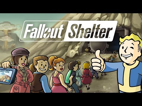 Fallout Shelter In Survival Mode With 200 Dwellers (First Stream Of 2018!)
