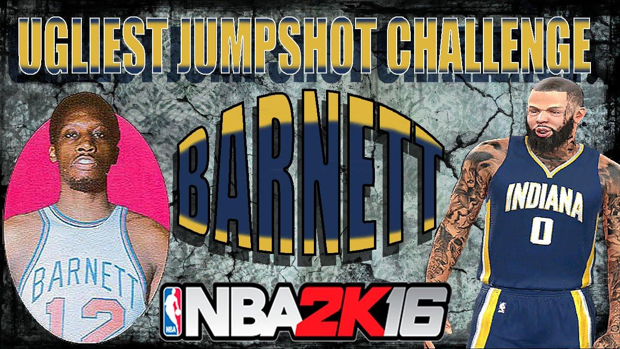 NBA 2K16 UGLIEST JUMPSHOT CHALLENGE dick barnett