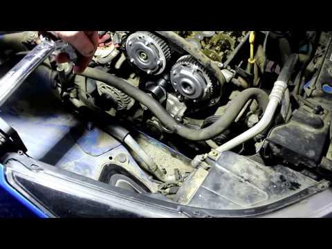 Chevrolet Cruze F18D4 Шевроле Круз 2011 года Замена фазорегуляторов и ремня ГРМ 3 часть