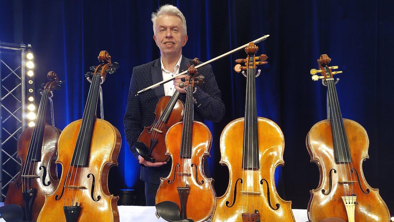 Video Jaroslav Svěcený: O houslích a houslařích