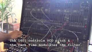 arp 2600 with 2 sequencers