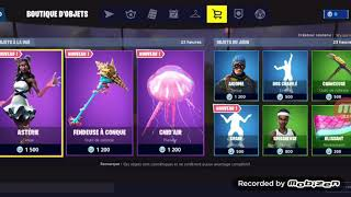 BOUTIQUE FORTNITE JULY 2, 2019 / NEW DANSE CRABE / NEW SKIN ASTERIE / ITEM SHOP 2 JULY 2019