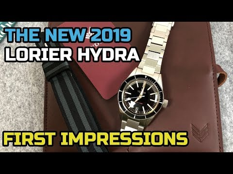 Lorier HYDRA [UNBOXING] A Stand Out Microbrand Watch