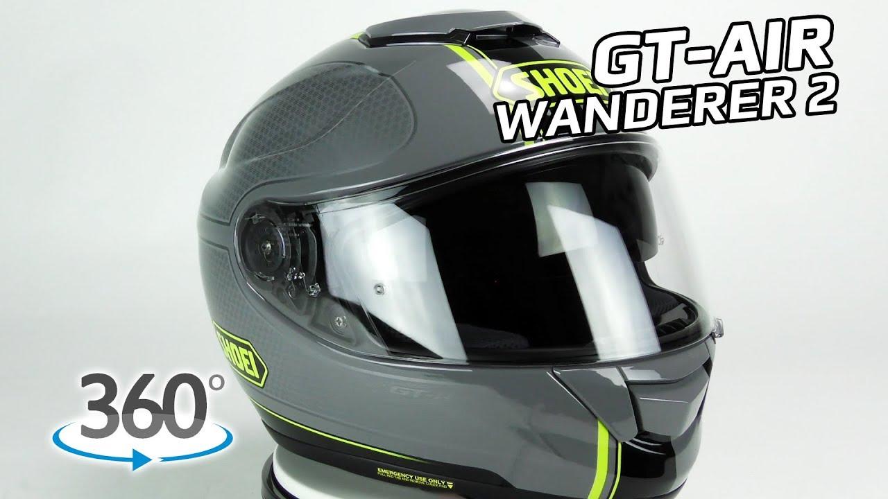 Shoei Gt Air Wanderer 2 360 Oram Youtube