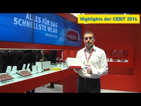 AVM-Premieren von der CeBIT 2014