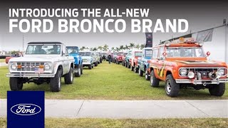 Introducing Ford's All-New Outdoor Lifestyle Brand: Bronco Brand | Ford