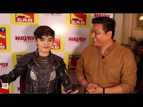 Special Meet With Chota Baalveer Vansh Sayani | Baalveer Returns @SAB TV