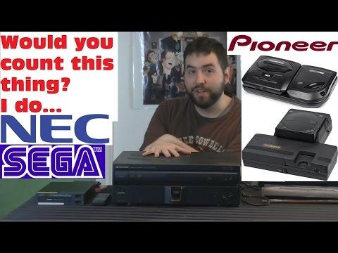 Pioneer LaserActive - Fourth VideoGame Generation Recap - Adam Koralik