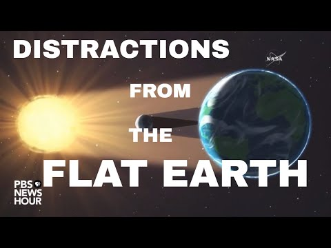Eclipse the Globe: The solar Eclipse and the Flat Earth