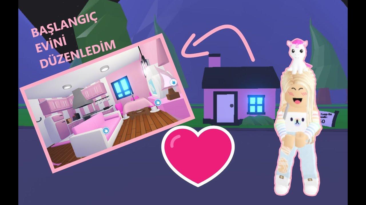 Başlangıç Evini Düzenleme (Pembiş Ev) - Adopt Me | ROBLOX