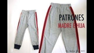 Patrones Pantalones Jogging Madre E Hija Gratis En Varias Tallas Youtube