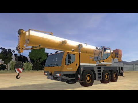 Mobile crane simulator presentation