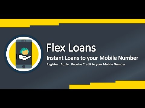 Flex Loans - Instant Loans to your Mobile Number