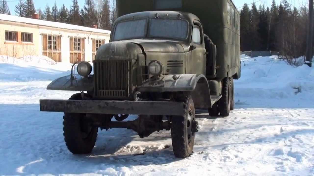 Soviet ZiS-151 truck - YouTube